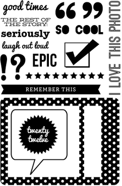 Epic Stamp Set