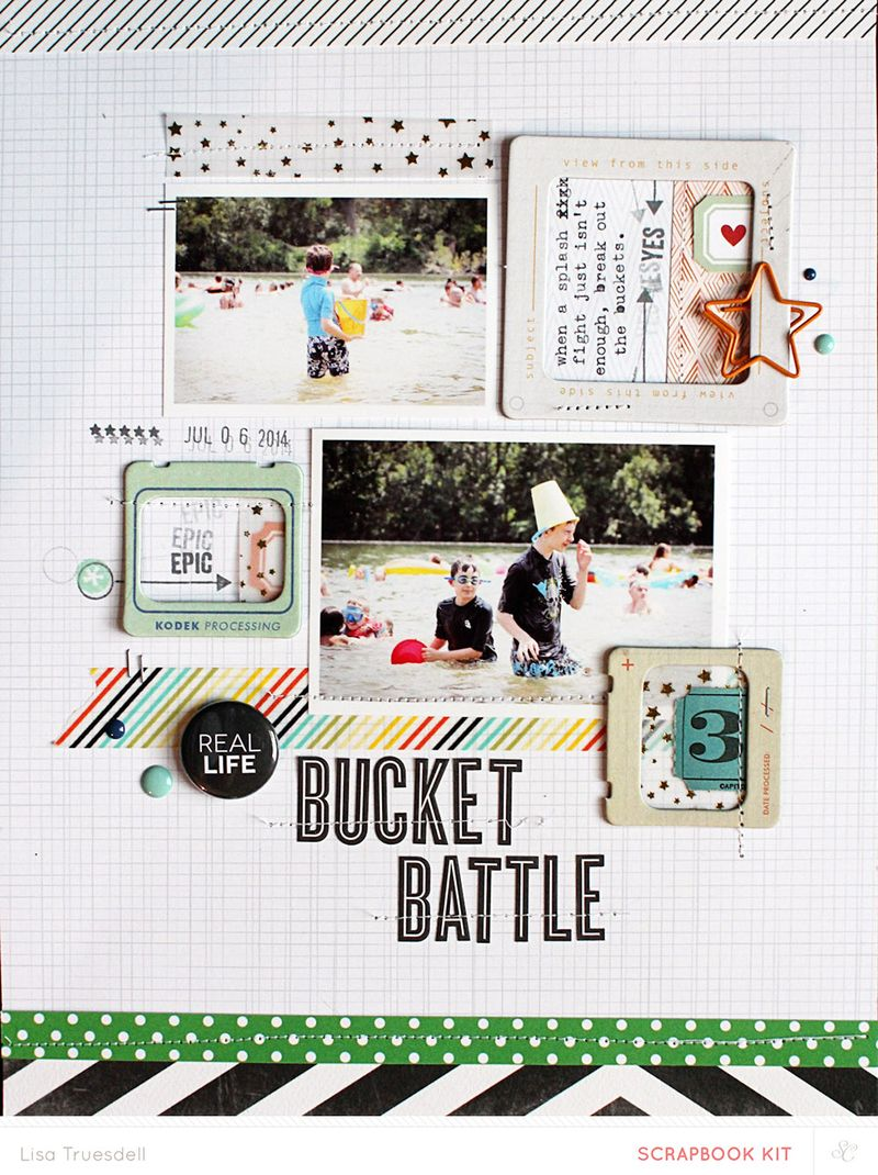 Bucketbattle - lisa truesdell